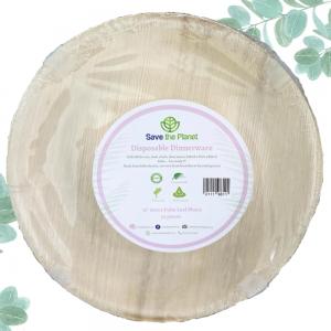 Disposable plates Areca Palm Leaf Plates Ecofriendly Disposable Plates Save The Planet