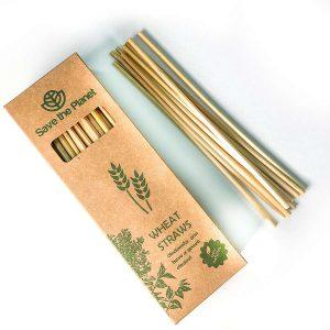 Wheat straw - Natural Eco friendly Straw