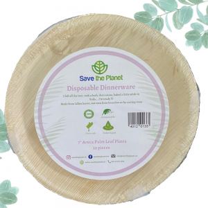 Disposable Plates Areca Palm Leaf Plates Ecofriendly Plates Save The Planet