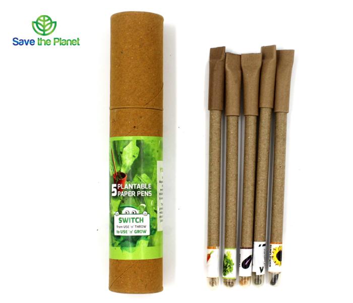 eco friendly pen - plantable pen - plantable stationary - eco friendly stationary - - disposable products - save the planet