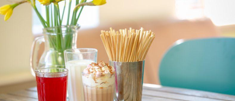 wheat straw - disposable straws - save the planet
