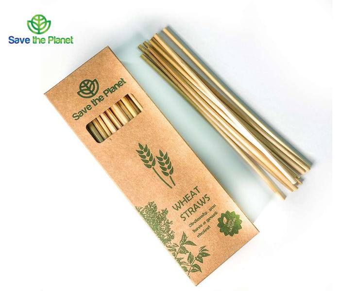 wheat straw - disposable straw - eco friendly straw - save the planet - gluten free straw