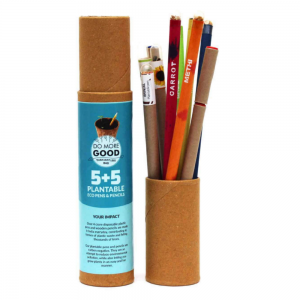 Plantable Eco pen and Pencil Combo, Save The Planet Ecofriendly Stationaries