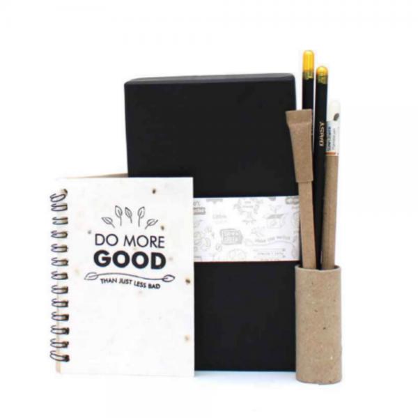 Premium Pocket Kit - 2 Premium Plantable Pencils + 2 Paper Seed Pens + 1 Plantable Mini Notepad