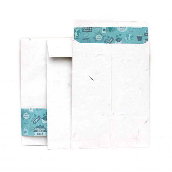 Plantable Envelopes - 3pcs Envelopes of size 5 x 7 Save the planet ecofriendly stationery