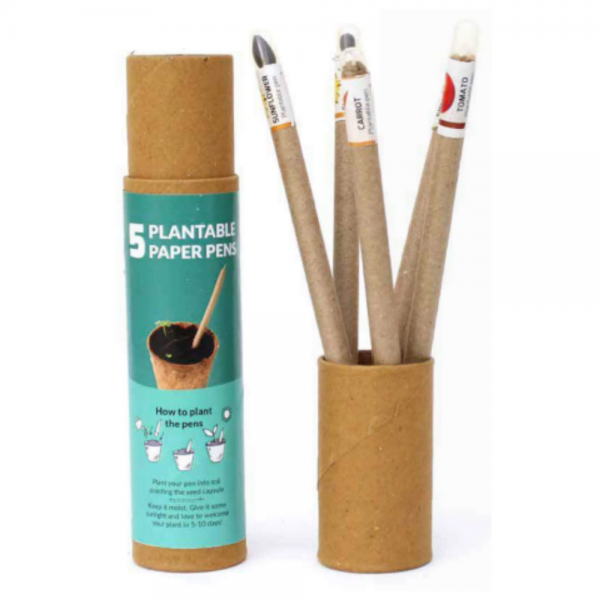 Plantable Pens - 5pcs Plantable Paper Pens Save The Planet