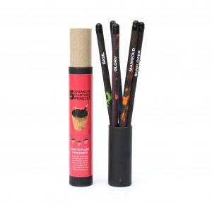 Plantable Premium Seed Pencils - 5pcs Black Tribal Plantable Pencils 1